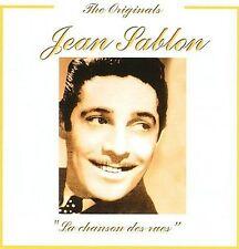 JEAN SABLO - LA CHANSON DES RUES NEW CD