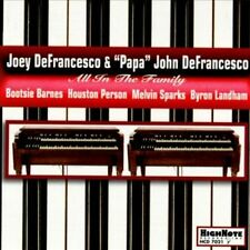 "All In The Family, Joey Defrancesco & ""Papa"" John D, New"