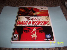 Tenchu: Shadow Assassins  (Wii, 2009) new