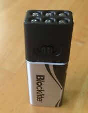 9V 9-Volt Battery Snap Connector Socket Pocket Purse Wedge LED SMD Torch 168-194