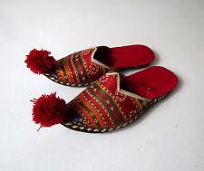 anciennes chaussures traditionnelles turques Vintage ethnique P 25