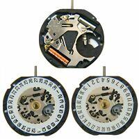 Japanese VX12E Watch Quartz Movement Date At 3'/6' 3Pin Single Calendar &Battery