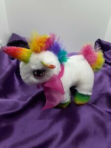 Dan Dee Unicorn Plush Stuffed Animal rainbow Valentine's 7""