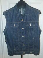 Guess Jeans Vest Sz Large Vintage