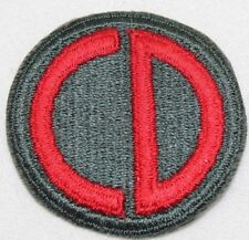 US Army 85th Division embroidered patch acu green/red each P5023