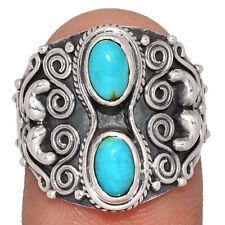 Bleu Mohave Turquoise - Arizona 925 Bague Argent S.6.5 AR163230 182X
