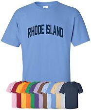 "New ""Rhode Island"" T-Shirt in S-4Xl, 30+ Colors! ocean state little rhody rams"