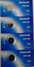 EUNICELL Lot de 4  Piles  LITHIUM 3v - CR1130