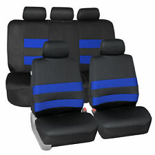 Seat Covers For Cars Neoprene Blue Black Front Amp Rear Set For Cars Fits Jeep Cherokee
