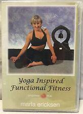 Yoga Inspired Functional Fitness Marla Ericksen DVD Empower 2005 NEW