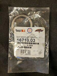 Omix- ADA OEM 16710.03 Wheel Bearing Nut 41-45 Jeep Willys MB Ford GPW Dana27