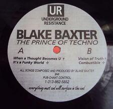 "BLAKE BAXTER - The Prince Of Techno 1991 TECHNO USA Underground Resistance 12"""