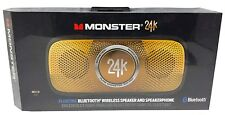Monster 24K SuperStar Backfloat Bluetooth Speaker Black/Gold - Floating Speaker