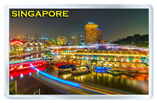 SINGAPORE MOD7 FRIDGE MAGNET SOUVENIR IMAN NEVERA