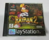 Playstation 1 Ps1 Rayman 2 II The Great Escape - Cleaned & Tested