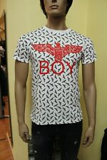 BOY LONDON T-SHIRT BLU1174 MADE IN ITALY SOTTOCOSTO