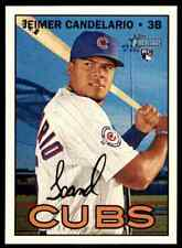 2016 Topps Heritage HN Jeimer Candelario RC #507 Chicago Cubs