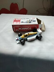 TOMICA 62 - WILLIAMS HONDA F1 [WHITE] CANON ABSOLUTELY MINT VHTF MADE IN JAPAN