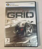 RaceDriver Grid (PC DVD) Classic Racing Game For Windows NEW FACTORY SEALED!!!!!