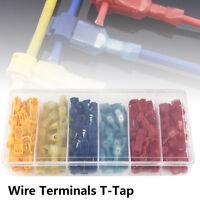 120pc Terminals Connectors Scotch Lock Wire T Tap Splice Quick Splice Scotchlock