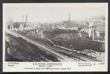 Wales Postcard - Cyfartha Ironworks, Merthyr Tydfil - Closed in 1919 - S661