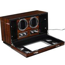 Holder Display - The Luxury Box Parliament Double Watch Winder + 4 Storage