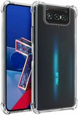 For Asus Zenfone 7 Pro ZS671KS ZS670KS Case Crystal Clear Shockproof TPU Cover