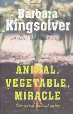 Animal, Vegetable, Miracle: Our year of seasonal eating,Barbara Kingsolver,Stev