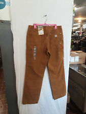 Carhartt women's duck pants100681 211 size  2 regular