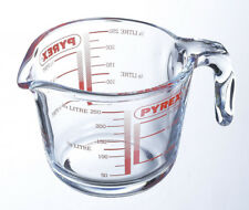 New Pyrex Small Glass Measuring Jug 0.25l 250ml 1/2 Pint