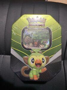 Rillaboom V Tin, Pokemon TCG Galar Collection Factory Sealed