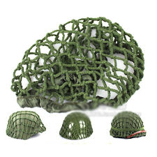 WWII WW2 US Army M1 Helmet Net Cover Thick Rope Cotton Camouflage Army Green