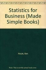 Statistics for Business (Made Simple Books)-Ken Hoyle, R. Ingram
