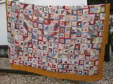 More details for large vintage / antique welsh patchwork quilt ~ for repair or repurposing