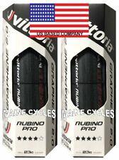 Vittoria Rubino Pro G 2.0 clincher Graphene 700 x 23 all black / folding 2 tires