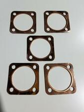5Pcs Motorized Bicycle Cylinder Head Top copper Gaskets For 80cc Gas Engine Part