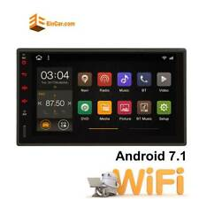 """Android 7.1 Car Stereo GPS Navigation Bluetooth Radio Player Double Din WIFI 7"""""""