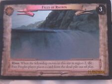 LOTR TCG 0D13 Falls of Rauros Very Scarce Unreleased Decipher Promo Foil NM/MINT