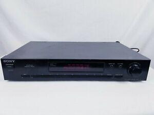 Sony ST-JX411 FM Stereo FM-AM Tuner Tested & Works Quartz Lock Digital Synthesi