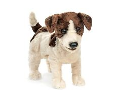 Jack Russell Terrier Puppet with Workable Mouth, Folkmanis MPN 2848, 3 & Up