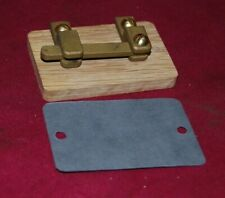 Wooden Knife Switch Gas Engine Motor Buzz Coil Hit & Miss