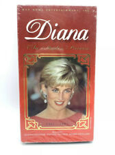 Diana: The Peoples Princess ~ New VHS Movie ~ Rare Sealed Video