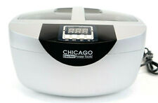 Chicago Digital Ultrasonic Jewelry Cleaner 2.5 Quart Capacity Heated 5 Clean Set
