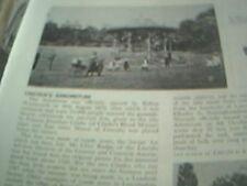 ephemera 1977 article lincoln arboretum with pictures