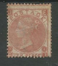 SG113 THE 1867 QV 10d PALE RED BROWN (EJ) MOUNTED MINT CAT £3600,SCARCE STAMP