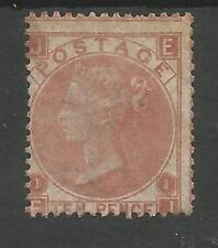 SG113 il 1867 QV 10D Pallido Rosso Marrone (EJ) montati MINT CAT £ 3600, scarse TIMBRO