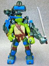 Ninja Turtles Figure - 2007 Auto Attack Leonardo - Playmates TMNT CG Movie