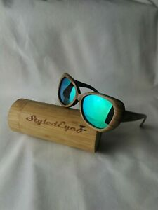 Ladies Wooden Sunglasses Styledeyez Cats Eyes Were £79.99 Now £20