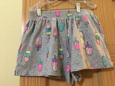 NWT Carter's Ice Cream Gray Girls Shorts Cotton Summer