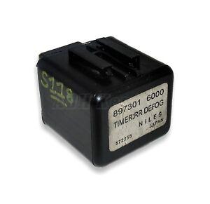 8973016000 Isuzu Rodeo Genuine 12V Defog Light Timer Control Relay